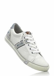 Sneakersy Mustang bonprix biały