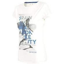 4f T-Shirt damski 4F H4L18-TSD015 10S biały r. XS