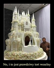 Tort weselny. Zgaduje, że u wschodniego sąsiada :)