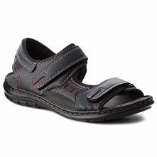 Sandały LANETTI - MSA426-1 Granatowy