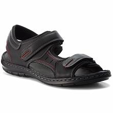 Sandały LANETTI - MSA426-1 Czarny