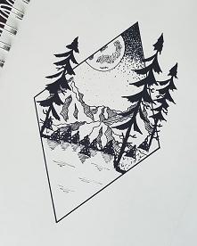 Góry, lasy, jezioro... wszy...