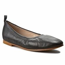Baleriny CLARKS - Grace Mia 261230364 Black Leather