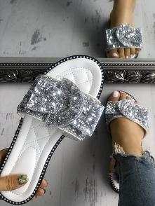 Rivet Sequins Embellished Peep Toe Flat Sandals Rozmiar: US4.5, US5.5, US6, US7, US8, US8.5 Kolor: silver