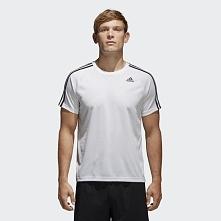 Adidas Koszulka D2M TEE 3S Biały r. L (BK0971)