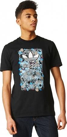 Adidas Koszulka męska  Culture Clash T czarna r. S (AZ1052)