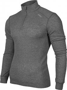 Odlo Koszulka Shirt turtle neck 1/2 zip Warm szara r. XL (152002/15700)