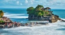 Indonezja, Tanah Lot - puzzle. Inspiracje na wakacje.