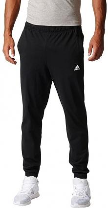 Adidas Spodnie czarne Essentials Tapered Banded Single Jersey Pant r. XXL (B4...