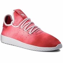 Buty adidas - Pw Hu Holi Tennis Hu DA9615 Scarle/Ftwwht/Ftwwht