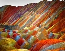Tęczowe góry - Zhangye Danx...
