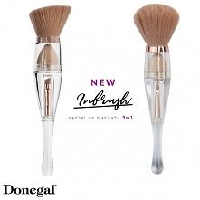 Nowość, która rewolucjonizuje makijaż. Pędzel Inbrush 3w1.