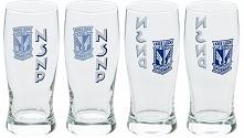KKS Lech Komplet 4 szklanki NSNP (S101756)
