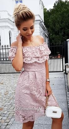 "Koronkowa sukienka ""hi..."