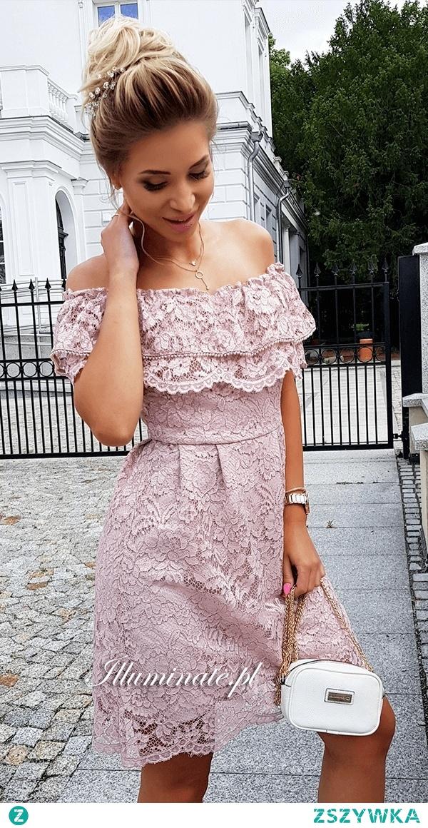 "Koronkowa sukienka ""hiszpanka"" z kolekcji Illuminate <3 Idealna na lato"