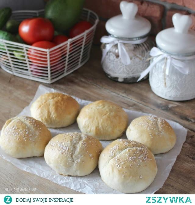 Ekspresowe bułeczki bez wyrastania! 5 minut roboty, 25 minut w piekarniku i gotowe! Przepis na blogu :)