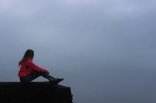 Wulkan Batur 1717 m.n.p.m. Indonezja