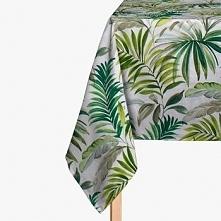 Obrus Tropical liście fenix 135x200