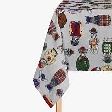 Obrus dekoracyjny  Dogs Multicolor 135x200 cm