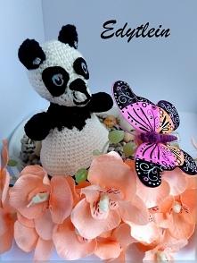 Kto kocha pandy? Moja Szydełkowa Panda jest niewielkich rozmiarów, lecz mieści w sobie dużo miłości :D