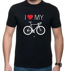 Koszulka T-SHIRT Love Bike
