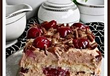 Ciasto cukierkowo - wiśniow...