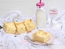 Ciasto jogurtowe z białym serem  Ser: 25 dag sera białego półtłustego 2 łyżki cukru 1 cukier waniliowy 1 budyń waniliowy 1 jajka 4 kopiaste łyżki wiórków kokosowych  Ciasto: 2 j...