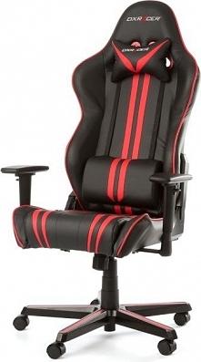 Fotel DXRacer Racing Czarno-czerwony (OH/RZ9/NR)