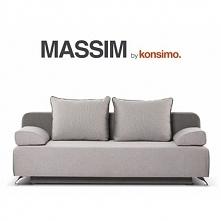 Sofa 3 trzyosobowa MASSIM ciemny szary/jasny szary