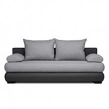 Sofa 3 trzyosobowa LORES szary/czarny