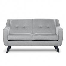 Sofa 2 dwuosobowa TERSO jasny szary