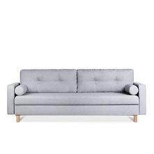 Sofa 3 trzyosobowa ERISO jasny szary