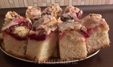Ciasto drożdżowe ze śliwkam...