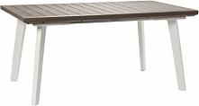 Keter Harmony Extendable Table Capuccino-Biały Stół ogrodowy