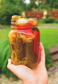 Ogórki konserwowe po kaszubsku