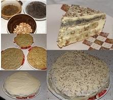 Ciasto trójwarstwowe  Торт ...