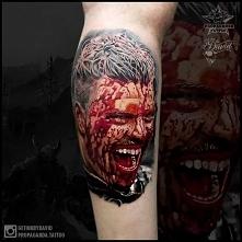 Tatuaż Ivar WIKINGOWIE