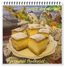 Sernik drezdeński    Ciasto...