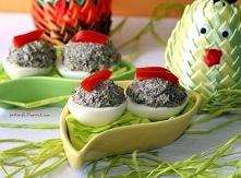 Jajka faszerowane pieczarka...