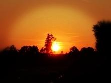 Piękny zachód słońca ♥️