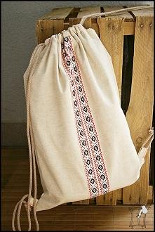 plecak-worek z krajką - t-bags