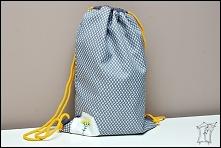 plecak-worek z haftem - T-Bags