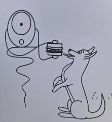 Zdarzyło się wam już tak? Pyszna kanapka, a pies gotowy do posiłku?