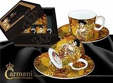 CARMANI Zestaw 2 filiżanek espresso - Gustav Adela - 532-0305