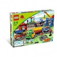 Klocki LEGO Duplo Pociąg Zestaw Deluxe