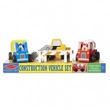 Pojazdy MELISSA & DOUG Pojazdy drewniane (10656)