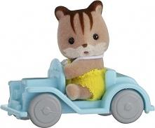 Sylvanian Families Przenośny zestaw dla dziecka (wiewiórka na samochodziku) 5203