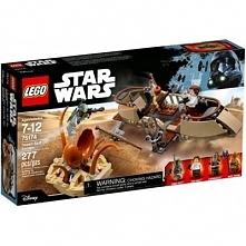 klocki LEGO 75174 Star Wars Ucieczka na pustynnej barce
