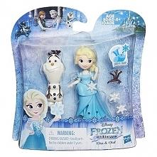 Hasbro Frozen Mini Laleczka z przyjacielem Elsa Lalka