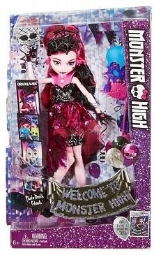 Mattel Monster High Fotobudka Draculaura Lalka